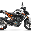 KTM 125 DUKE ABS BIANCA