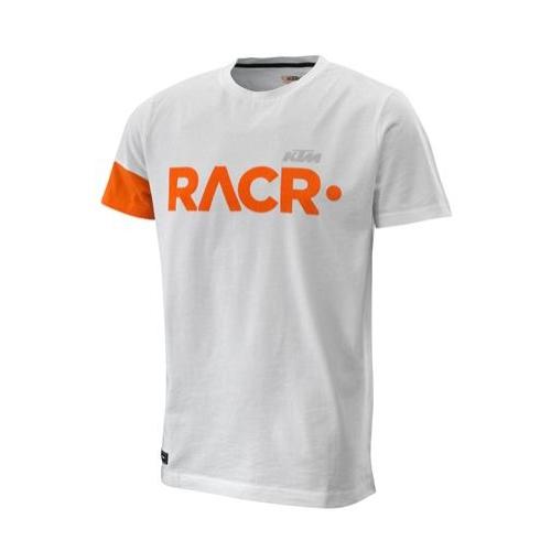 RACR 222 TEE WHITE