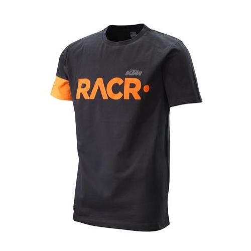 RACR 222 TEE BLACK