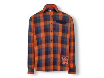 RB KTM RACING TEAM CHECKED SHIRT