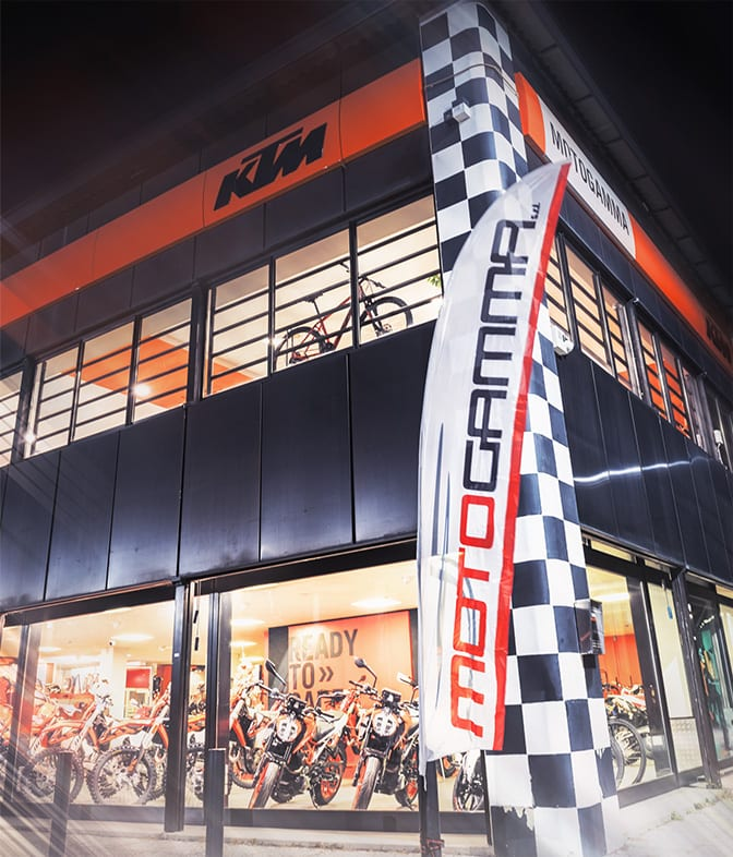 Moto Gamma showroom